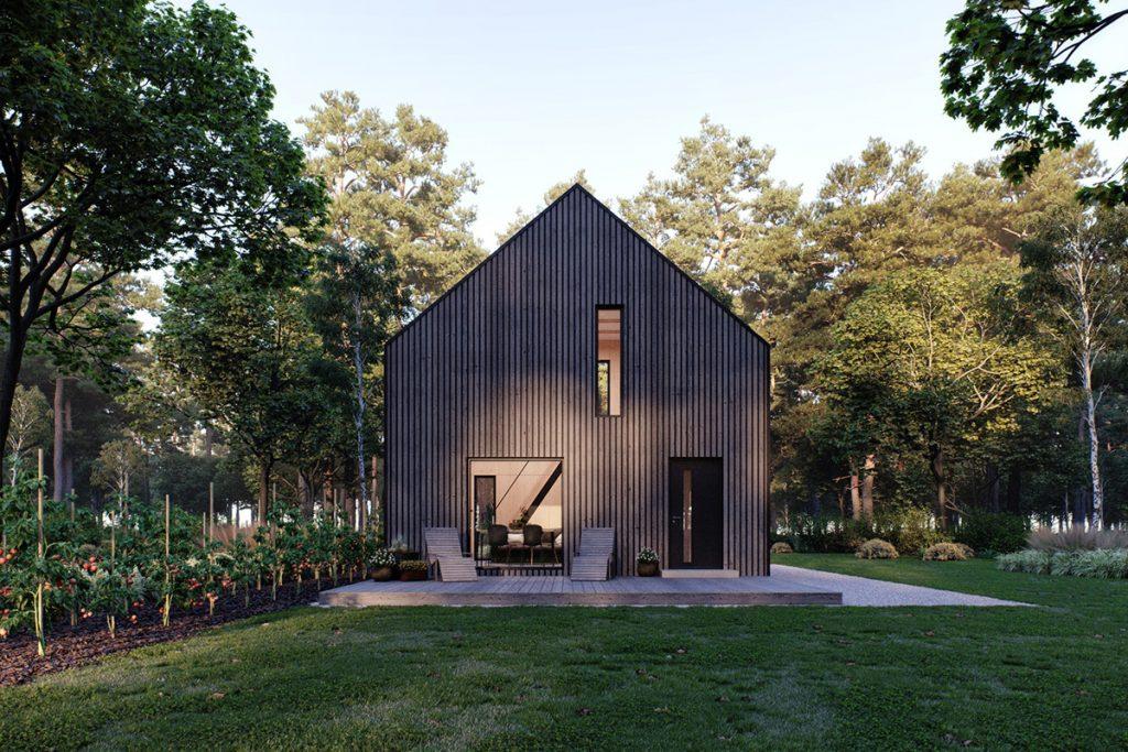 modulo house mały tani dom prefabrykowany
