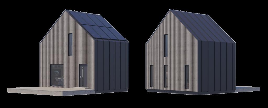modulo mały tani dom prefabrykowany