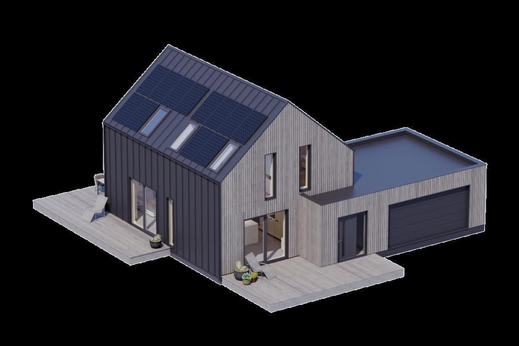 Modulo House v_3 z garażem